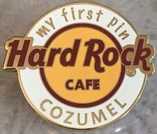 """Hard Rock Cafe COZUMEL 2018 """"MY FIRST PIN"""" Classic HRC Logo pin with White Ring"""