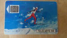 Télécarte France Jeux Olympiques d'hiver 1992 - ski de fond - 50u - Phone card