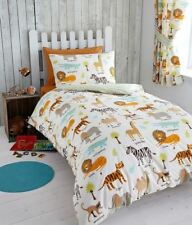 Animals 100% Cotton Bedding Sets & Duvet Covers for Children