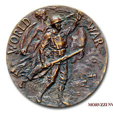 MORUZZI - US World War I MEDAL WITH NUMBER 20775 New York State War Service 1919