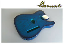 Telecaster 2 piece Swamp Ash body Finish high gloss blueburst trans 2