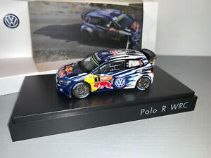 RALLY 1/43 SPARK VW POLO R WRC SEBASTIEN OGIER KENNARDS AUSTRALIA 2016 KIT RARE