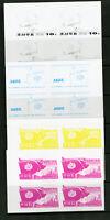 Korea Stamps Progressive Proof Mint Blocks XF OG NH