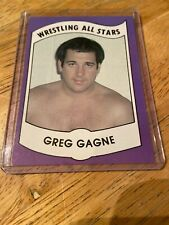 GREG GAGNE AWA 1982 Wrestling All Stars Series B Trading Card #4 VGC