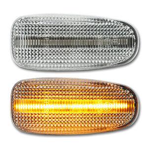 WEISSE LED Seitenblinker Mercedes E W210 AMG CLK 208 SLK R170 Vito W638 Sprinter