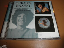 SHIRLEY BASSEY cd NOBODY DOES IT LIKE ME LOVE + LIFE and FEELINGS midnight blue