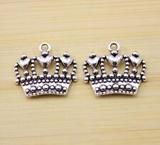 charms Pendants accessories 24x21 mm 10 pcs Retro style Zinc alloy