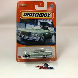 1975 Chevy Caprice * Green * 2021 Matchbox Case V