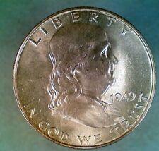 1949-D Franklin Silver Half Dollar (001)