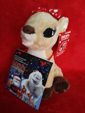 "CLARICE 9"" Plush W/ Music CD DanDee 2010 rudolph misfit toys NEW"