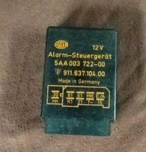 PORSCHE 19871988 1989 911 930 Carrera Turbo Alarm Module Relay  91163710400 Oem