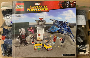 Lego Marvel Super Hero Airport Battle (76051) TOWER AND QUINJET ONLY