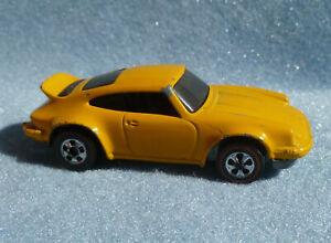 1974 Hotwheels Redline Porsche Carrera Yellow