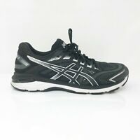Asics Mens GT 2000 7 1011A158 Black White Running Shoes Lace Up Low Top Size 11