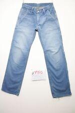 Levis 571 work pant (Cod.J735) Tg.42 W28 L32 jeans usato boyfriend