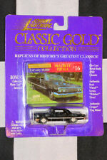Johnny Lightning Diecast Classic Gold 1963 Chevy Impala Black  Limited Edition