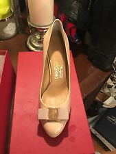 Salvatore Ferragamo Pimpa  Bisque Pumps 8