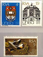 RSA Sudafrica South Africa 1973 418-20 Università di stemma coat of arms edificio **