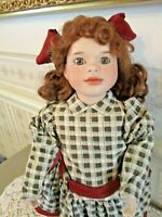 """Wendy Lawton Doll, 14"""" tall, """"Butter Rum Bunny"""", Edition 2000, # 0251/2000 pcs"""