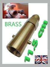 Remplissage bouteille gaz UK baionnette GPL Remplissage pour calor flogas Laiton Adaptateur 11.5 cm long
