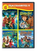 4 SCOOBY DOO MOVIES 1 2 3 4 SARAH MICHELLE GELLAR FREDDIE PRINCE JR. DVD