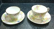 Hammersley & Co Longton China Tea Cup & Saucer Tea Bowl & Plate Oriental Pattern