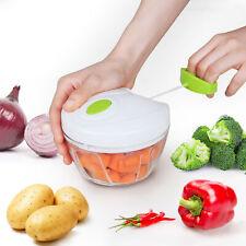 Zerkleinerer Gemüseschneider Universal Obst Fleisch Nüsse Zwiebelhacker 400 ml