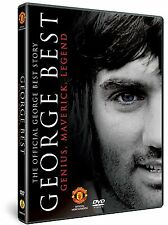 THE OFFICIAL GEORGE BEST STORY DVD GENIUS, MAVERICK, LEGEND FOOTBALLER