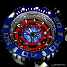 Invicta Marvel Captain America Sea Hunter Swiss Movt 70mm Chronograph Watch New
