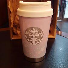 Starbucks Coffee Korea 2017 Cherry Blossom SS Elma Tumbler 355ml 12oz Limited
