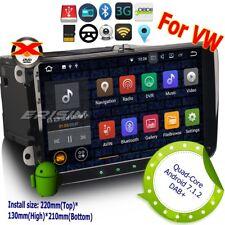 For VW Golf T5 SEAT Skoda Passat Touran Polo Autoradio Android 7.1 DAB+GPS 3491