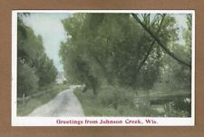 """Greetings from Johnson Creek,Wis.,WI Wisconsin, """"General Landscape series"""" #840"""
