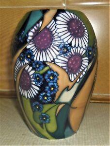 Moorcroft Rare 'Campbell Island' Trial Vase
