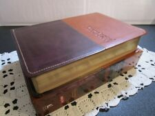 ** NKJV Chronological Study Bible ** Brown Leathersoft ** NEW ** r$79.99    #536