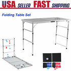 4 IN 1 Folding Table Set Equipment Outdoor Game Lawn Beer Desk Lightweight Funny