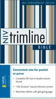 NIV Trimline Bible by Zondervan , Leather Bound