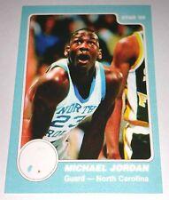 Michael Jordan 1985 Star North Carolina Rookie Error Logo Basketball Card No 3