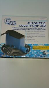 SWIMMING POOL COVER PUMP 350 gph SUBMERSIBLE PUMP REMOVE STANDING WATER NEW