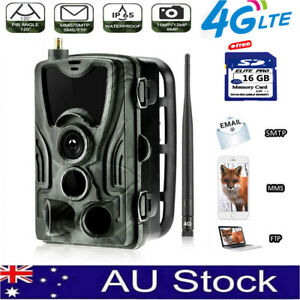 4G Trail Camera Wireless Home Security Cam 3G phone MMS Waterproof Anti Theft AU