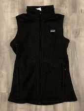 Patagonia Womens Sleeveless Zip Up Fleece Size Extra Small