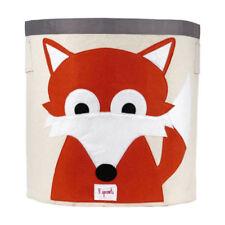 NEW Baby Kid Animal Toy Storage Cube Shelf Nursery Decor- Fox