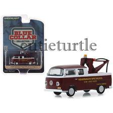 Greenlight 1968 Volkswagen Type 2 Double Cab Tow Truck 1:64 Burgundy 35140 A