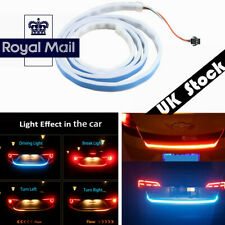 1x Flowing LED Strip White/Red/Yellow/Blue Car Rear Tail Light LED UK Stock !