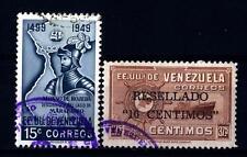 VENEZUELA - 1950-1951 - 450° Anniversario della scoperta del lago di Maracaibo d