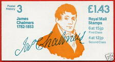 Fn1b £1.43 James Chalmers Rm Folded Booklet