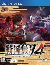 Used PlayStation PS Vita Samurai Warriors 4(Sengoku Musou 4) Japan Import F/S