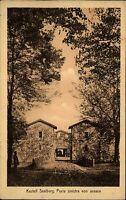 Kastell Saalburg alte AK Taunus ~1910 Blick auf die Porta sinistra von aussen