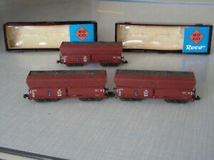 Selbstentladewagen Spur N Roco Set 3 Wagen