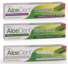 Aloe Dent Toothpaste - Original, Sensitive or Whitening