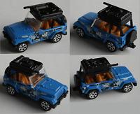 Matchbox - ´98 / 1998 Jeep Wrangler blau